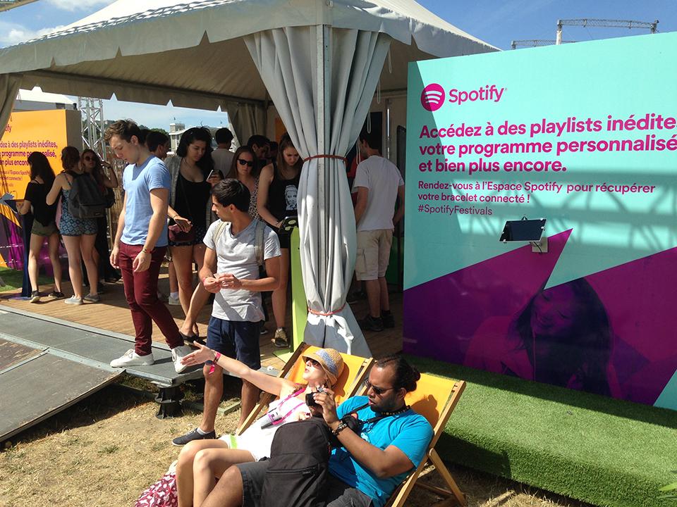 festival spotify événement