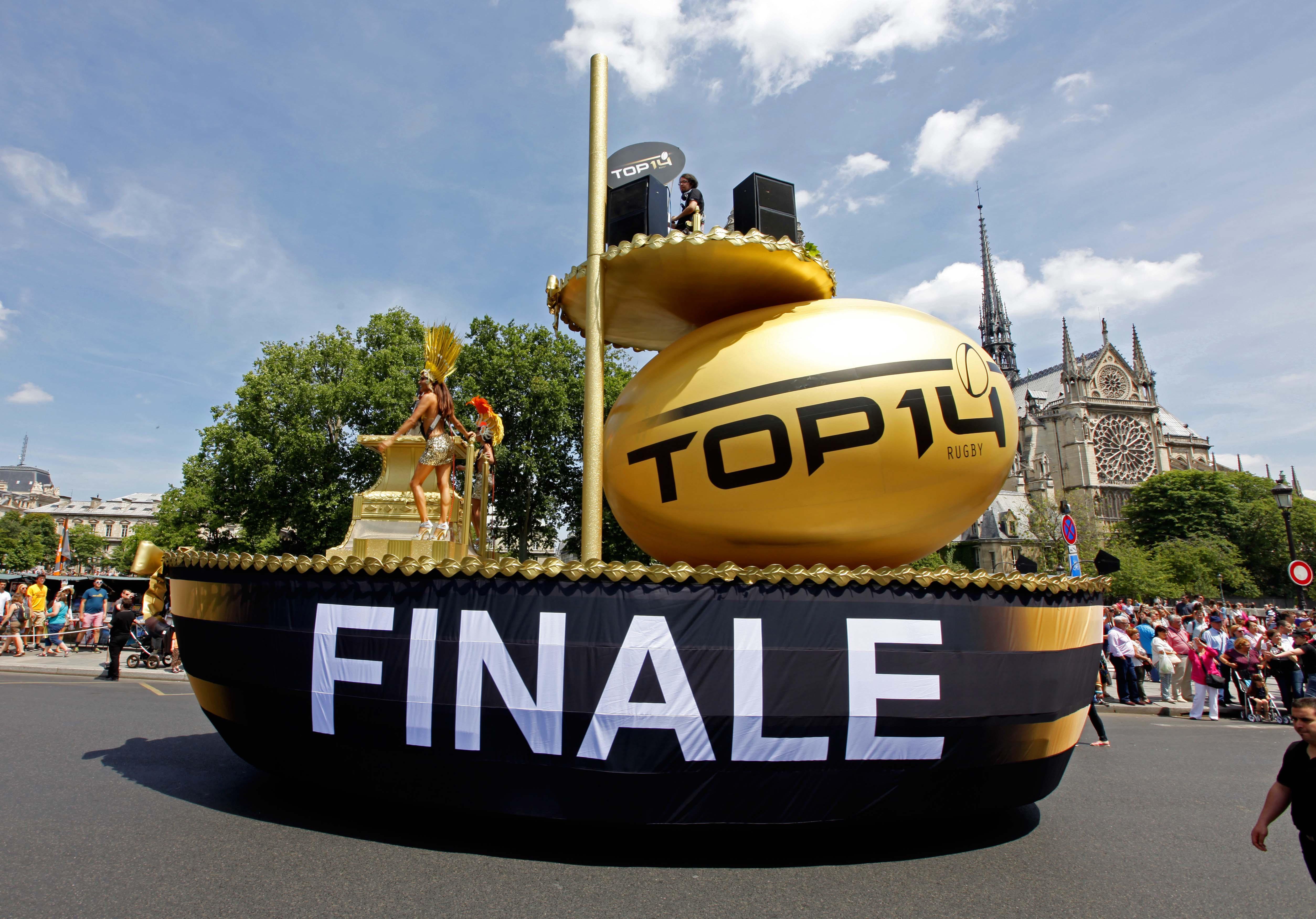 événement top 14 rugby